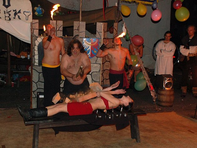 Oslava svátku Halloween v Dolním Žandově - zlatý hřeb večera