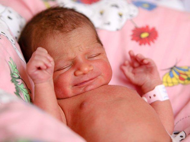 ZDENA BARTOŠOVÁ přišla na svět ve středu 9. března v 1.24 hodin. Při narození vážila 2 660 gramů a měřila 48 centimetrů. Doma v Chebu se z malé Zdeničky těší bráška Stanislav, maminka Petra a tatínek Dezider.