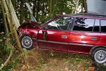 Nehoda v Aši.