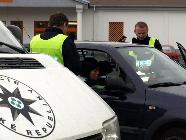 Policejní kontrola cizinců v Chebu