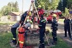 Další cvičení mají za sebou profesionální hasiči z Mariánských Lázní.