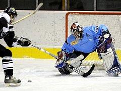 Hokejové utkání HC Cheb - PK Vřesová