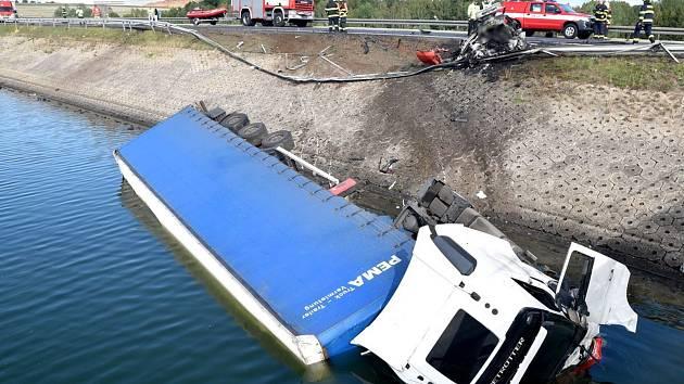 Dopravní nehoda na Jesenici.