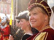 Jarmark, středověká vesnička, rytířský turnaj na koních a také velká bitva. To a spousty dalšího čekalo na návštěvníky Valdštejnských slavností, které se v Chebu konaly uplynulý pátek a sobotu.