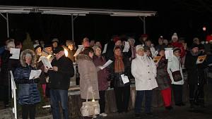Zpívání koled na Chebsku