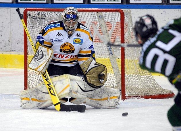 Karlovarská Energie porazila Litvínov i ve čtvrtém zápase a zajistila si tak postup do semifinále play off