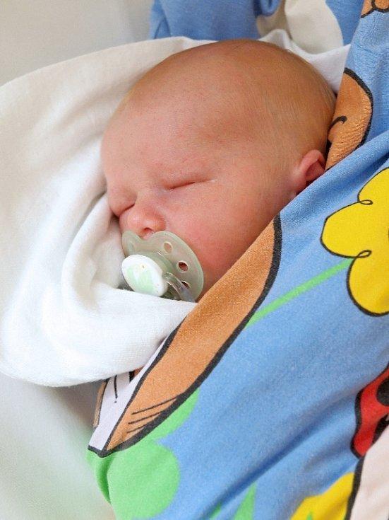 JOSEF MAŠEK přišel na svět v úterý 5. srpna v 9.30 hodin. Při narození vážil 3 580 gramů a měřil 50 centimetrů. Doma v Aši se z malého Josífka raduje sestřička Kristýnka spolu s maminkou Hanou a tatínkem Josefem.