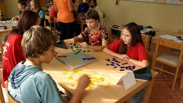 Deskové hry v Městském domě dětí a mládeže Dráček v Mariánských Lázních