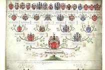 TAK VYPADÁ například vývod z předků šlechtického rodu Deym ze Stříteže.