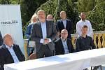 Trikolóra hnutí občanů zahájilo volební kampaň ve Františkových Lázních.