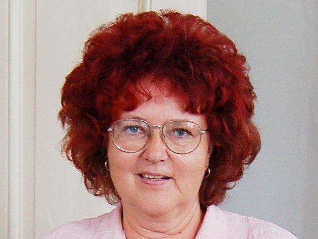 Marie Mudrová, vedoucí chebské městské knihovny.