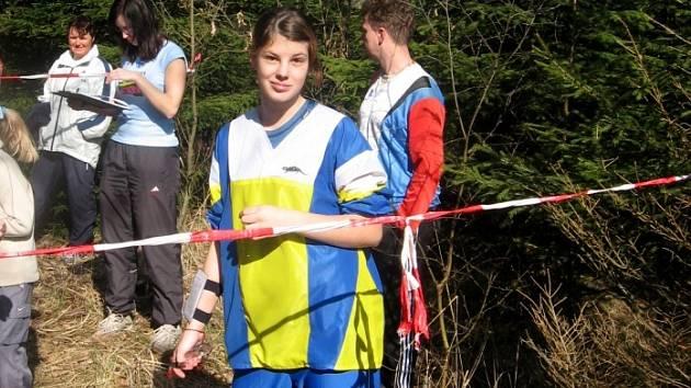 Mariánskolázeňská dorostenka obsadila na víkendových závodech v orientačním běhu šesté a sedmé místo.