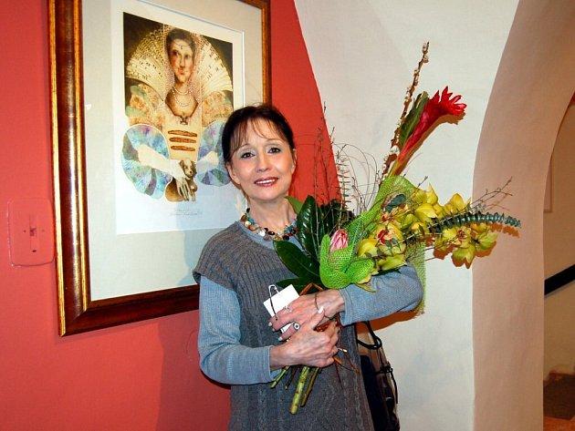 Michaela Lesařová - Roubíčková v chebském muzeu