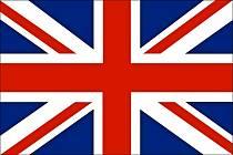 Vlajka Velké Británie.