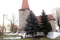 Kostel v Milhostově na Chebsku