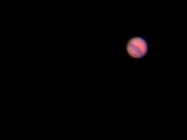 Planeta Mars.