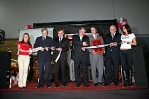 Slavnostní otevření nového chebského hypermarketu Interspar