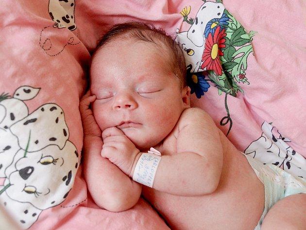 LAURA KARLOVSKÁ se poprvé rozkřičela v pátek 21. srpna v 8.38 hodin. Při narození vážila 3 180 gamů a měřila 49 centimetrů. Doma v Chebu se z malé Laurinky těší maminka Petra s celou rodinou.