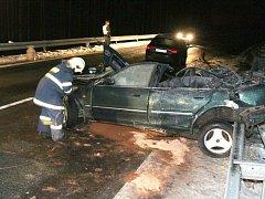 Při dopravní nehodě u Aše zemřeli v sobotu 24. ledna dva lidé
