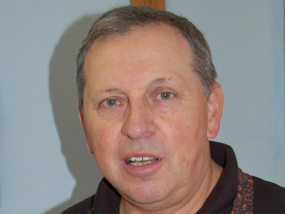 Jiří Pošmura z Mykologického klubu Slavkovský les