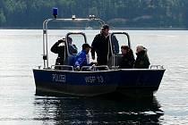 Společná česko-německá policejní hlídka na Jesenici