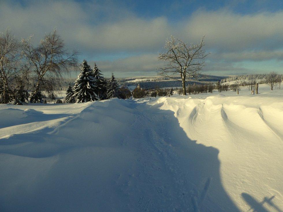 Sněhové krásy.