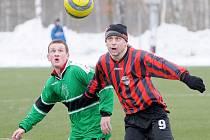 Na hřišti ve Františkových Lázních zvítězili v rámci přípravy fotbalisté FC Františkovy Lázně nad Sokolem Drmoul 5:1
