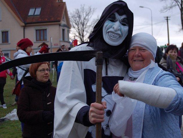 V Plesné si užili masopust.