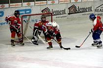 Hokejová utkání žáků 6. a 7. tříd KLH Chomutov a HC Mariánské Lázně