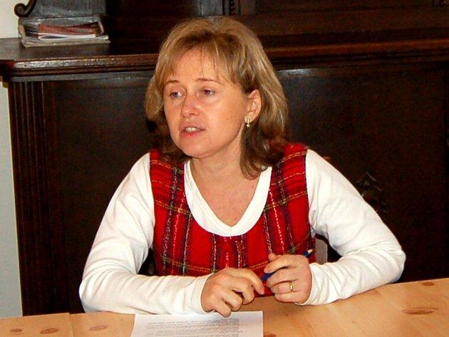 Jana Kolafová, koordinátorka Dobrovolnického centra v Chebu