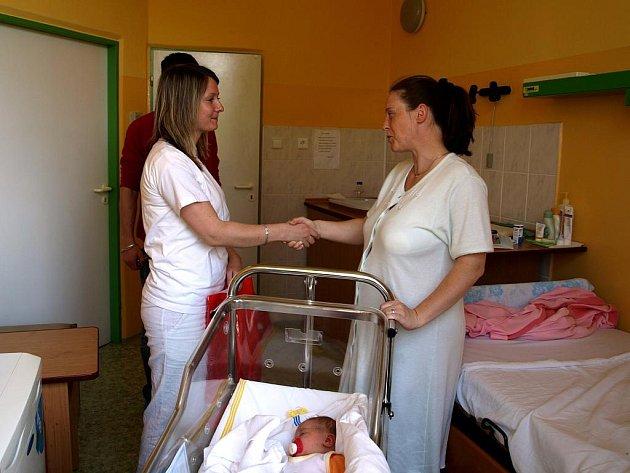 Den matek v chebské porodnici.