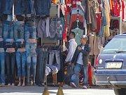 Chebská tržnice Dragoun v dobách své pochybné slávy