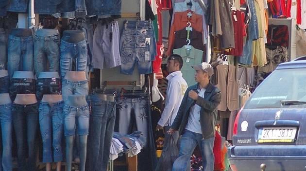 Vietnamškých obchodníků je na tržnici Dragoun stále hodně