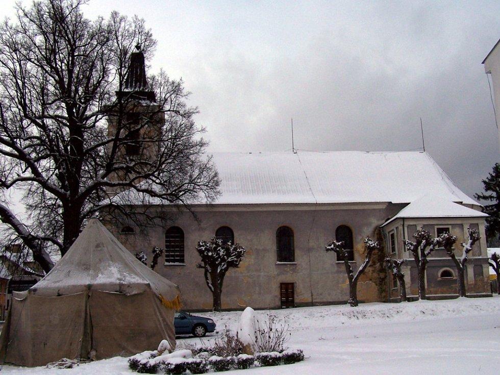 Kostel sv. Kříže v Novém Kostele na Chebsku