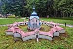 Z parku miniatur. Foto: Mária Cibová