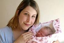 KAROLÍNA CHUDOBOVÁ přišla na svět v pondělí 9. května v pět hodin ráno. Při narození vážila 3100 gramů a měřila 46 centimetrů. Doma v Chebu se z malé Karolínky raduje maminka Jitka spolu s tatínkem Pavlem.