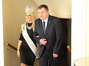 Šestadvacetiletá Miss Princess of The World 2017, Malťanka Dajana Laketic navštívila Mariánské Lázně.