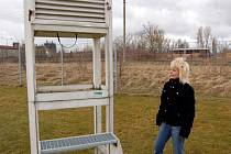 Den otevřených dveří v chebské meteorologické stanici