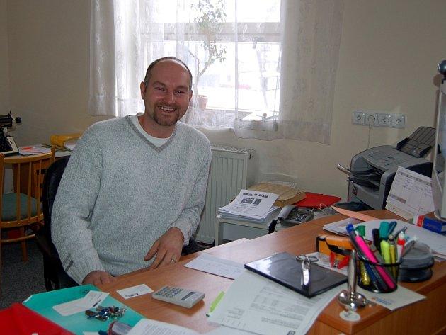 Jan Strachota, starosta obce Křižovatka na Chebsku