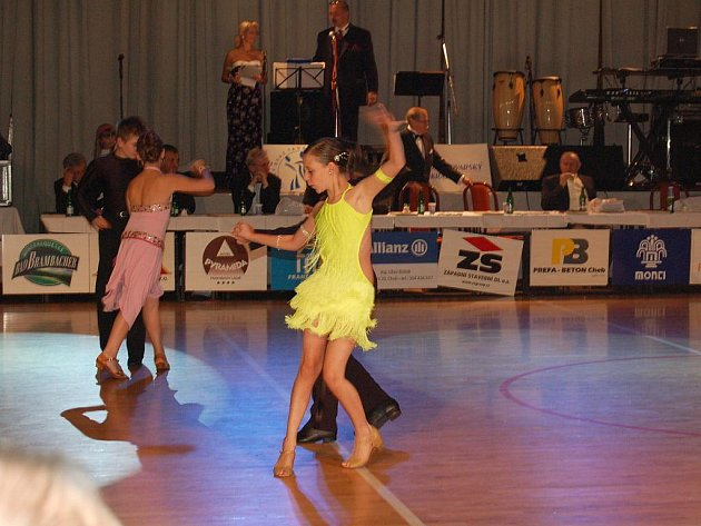 Chebské taneční Grand Prix.