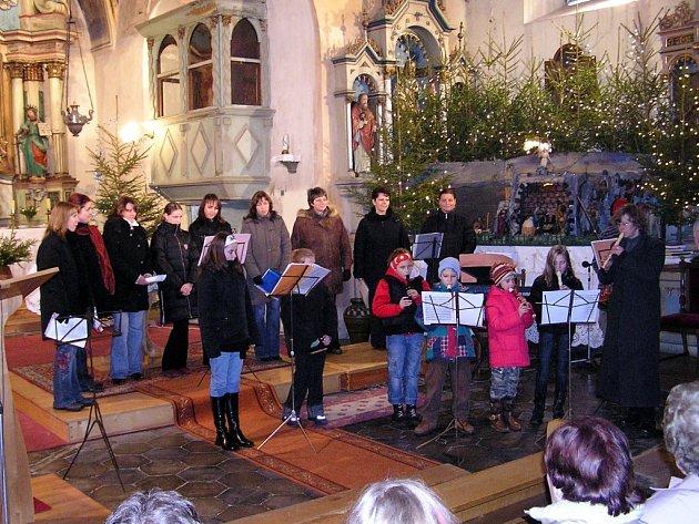 Vánoční koncert  v Lubech