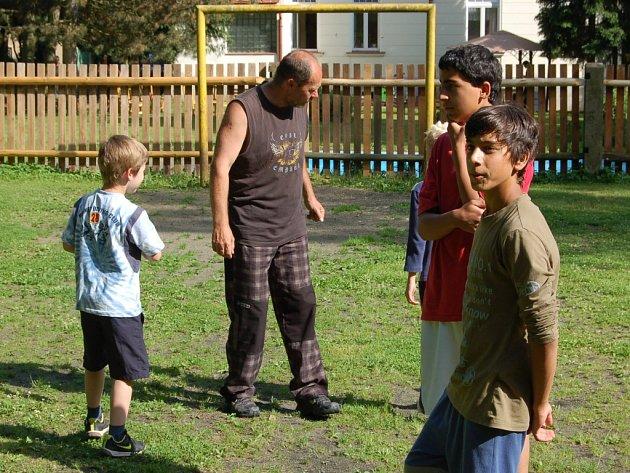 Rozloučení se školním rokem uspořádal pro své děti Dětský domov v Mariánských Lázních.