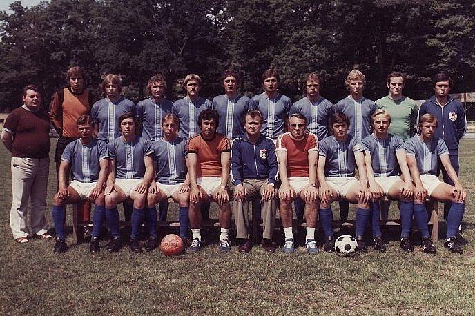 Rudá hvězda Cheb ze sezony 1978/1979.