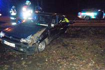 Hasiči ze stanice Aš společně s kolegy z drážní jednotky z Chebu zasahovali u dopravní nehody osobního auta a vlaku v Aši.
