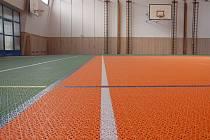 Na dva miliony korun vyšla kompletní rekonstrukce tělocvičny na základní škole v ulici Obětí nacismu v Chebu.