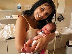 ROBIN FERENC se narodil v pátek 12. března v devět hodin dopoledne. Při narození vážil 3190 gramů a měřil 46 centimetrů. Doma v Lubech se raduje maminka Renata s celou rodinou z malého Robinka.