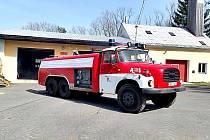 Mnichovští hasiči se rozloučili s Tatrou 148.