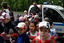Chebští strážníci připravili pro děti další ze sérií akcí zaměřených na bezpečnost