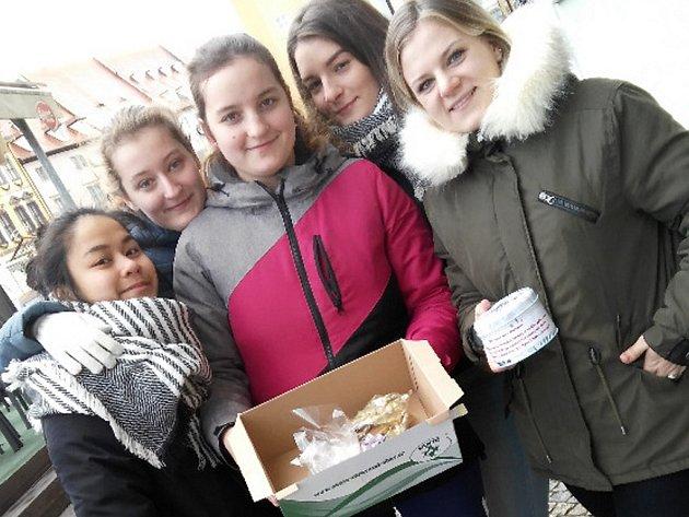 PERNÍČKY. Studentky chebské zdrávky perníčky pomohly hospici. Zbylé výrobky udělaly radost pacientům.