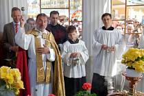 Svěcení pramenů ve Františkových Lázních